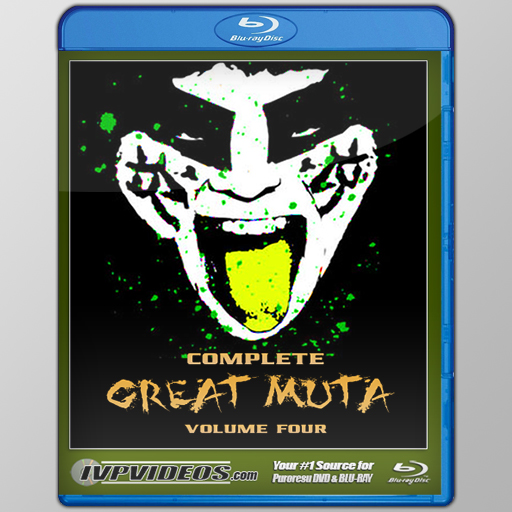 Complete Great Muta V.4 (Blu-Ray with Cover Art)